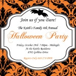 Halloween Baby Shower Invitations