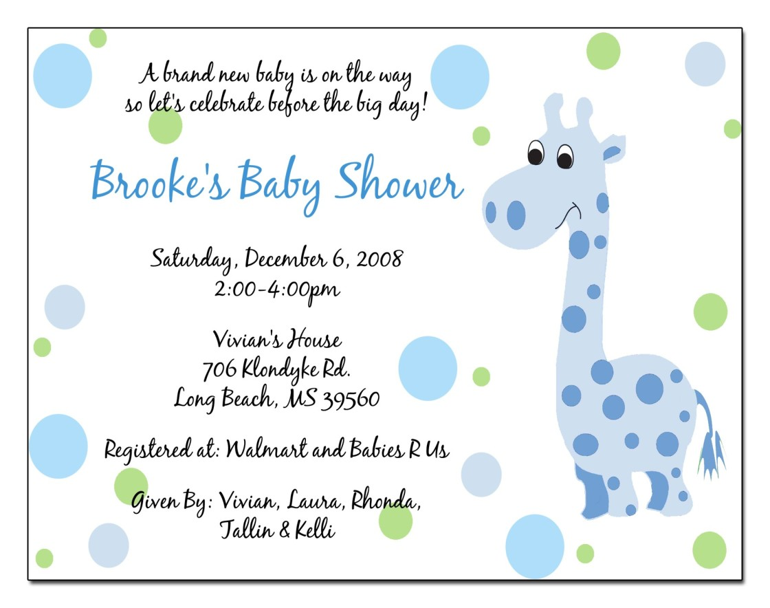 inexpensive baby shower invitations